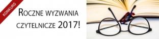 Wyzwania czytelnicze na rok 2017!
