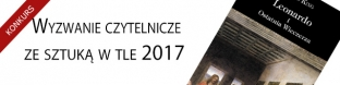 Wyzwanie czytelnicze - ze sztuką w tle 2017