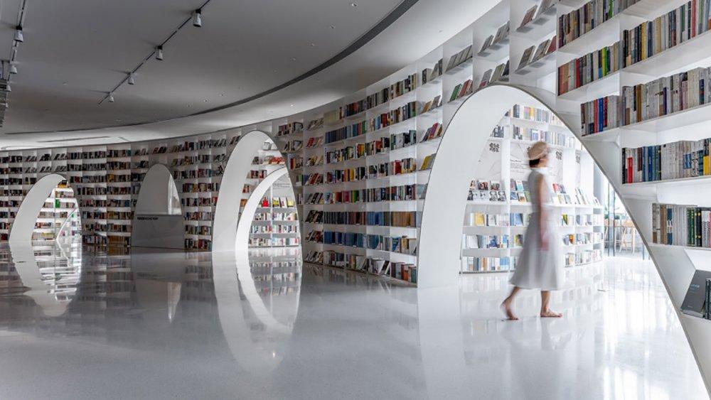 Księgarnia w wieżowcu