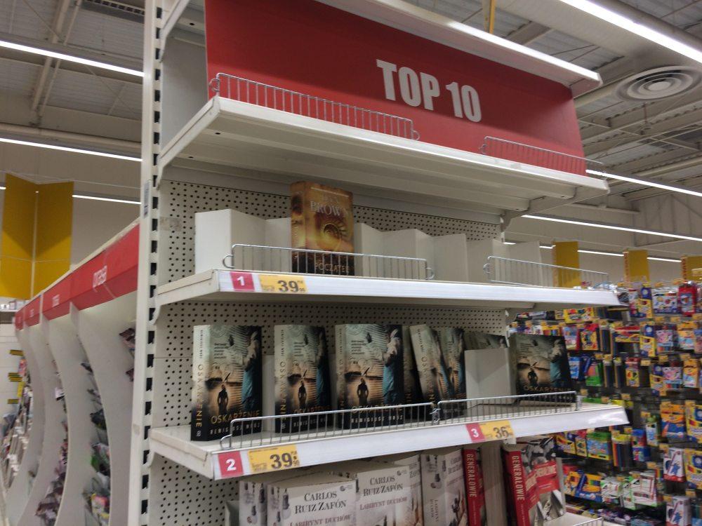 Top Książek w supermarketach