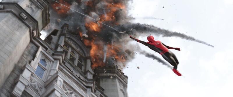 Spiderman dalek od domu film