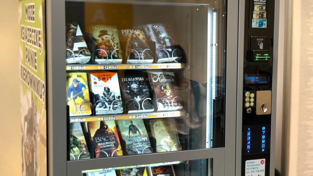 Książkomat w krakowie