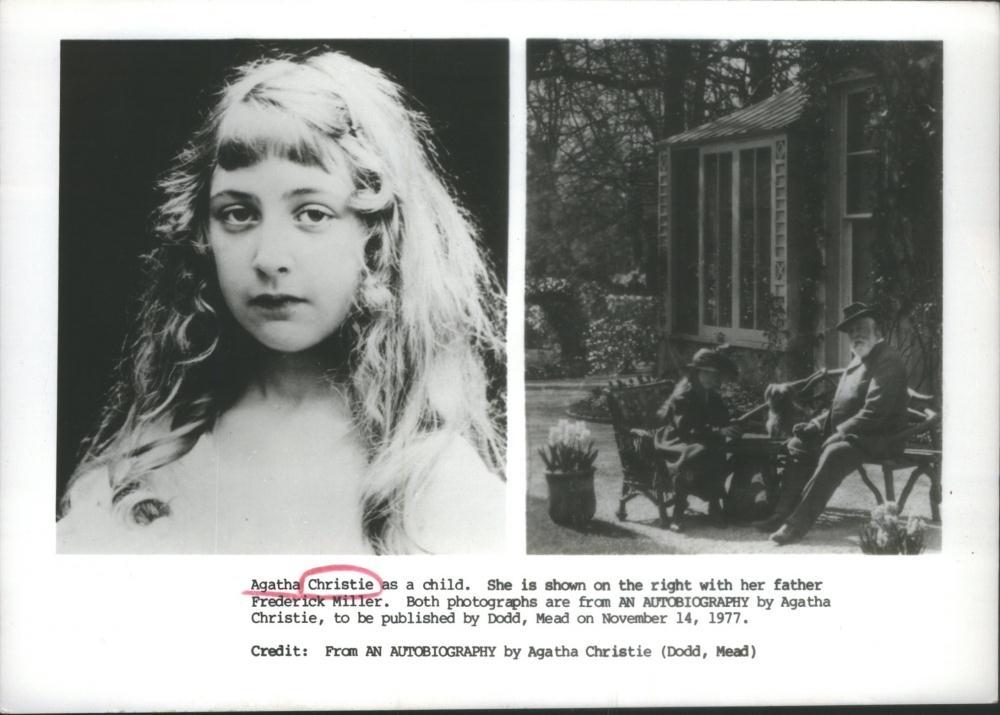 Agatha Christie w młodości