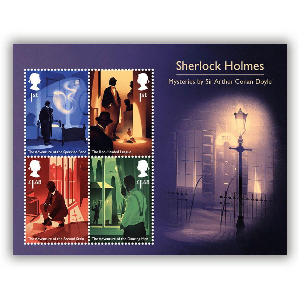Znaczki Sherlock Holmes