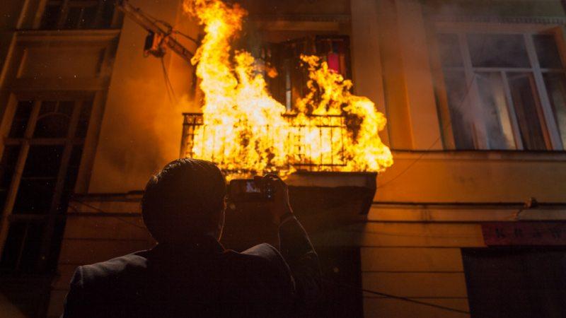 Żywioły saszy - ogień - kadr z serialu