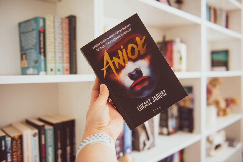 Anioł - Łukasz Jarosz - książka