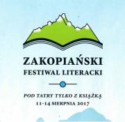 Zapraszamy na Zakopiański Festiwal Literacki