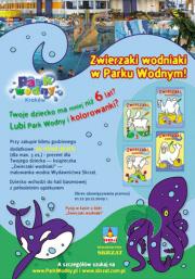 Zwierzaki wodniaki Wydawnictwa Skrzat  w Parku Wodnym!