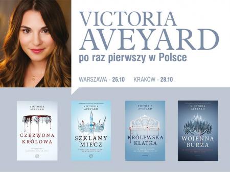 News - Victoria Aveyard niebawem w Polsce