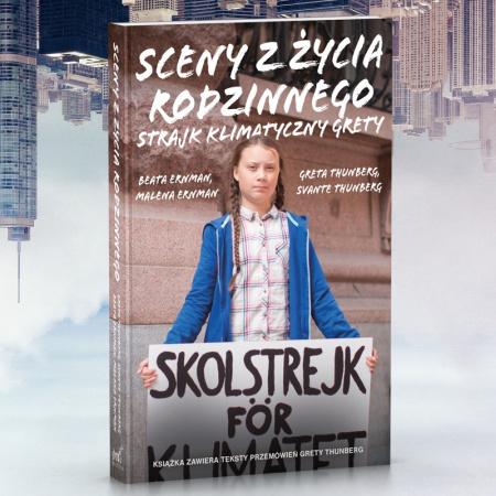 News - Wiemy, kto wyda w Polsce książkę Grety Thunberg