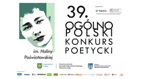 News - 39. konkurs poetycki im. Haliny Poświatowskiej