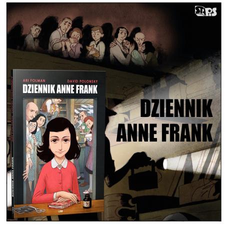 News - Dziennik Anne Frank w formie komiksu już wkrótce w Polsce!
