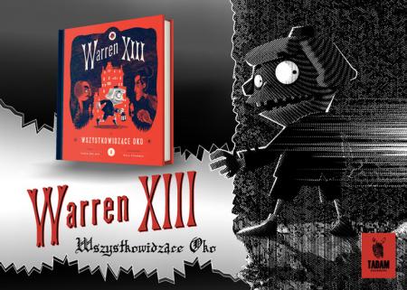 """News - Dziwak. Fragment książki """"Warren XIII i Wszystkowidzące Oko"""
