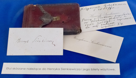 News - Obejrzyj nieznane rękopisy Henryka Sienkiewicza!