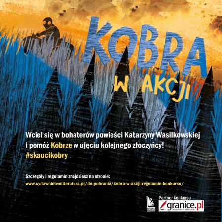 News - O, rany! Kobra! Zobacz skautów Kobry w akcji i wygraj zestawy książek za krótki filmik