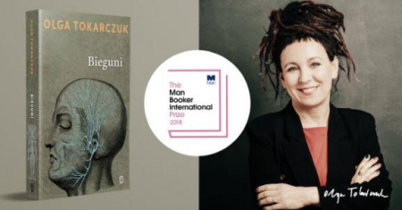 News - Olga Tokarczuk z Man Booker International Prize