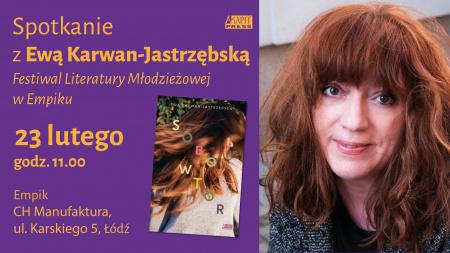 News - 23.02: Ewa Karwan-Jastrzębska w Łodzi