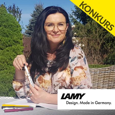 News - Wygraj wieczne pióro LAMY i książki z autografem Niny Majewskiej-Brown