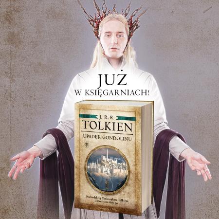 """News - Upadek Gondolinu: nieznana opowieść ze świata """"Władcy Pierścieni"""