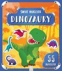 Okładka książki - Świat naklejek. Dinozaury