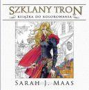 Okładka ksiązki - Szklany tron. Książka do kolorowania