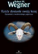 Okładka ksiązki - Każdy dostanie swoją kozę