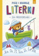 Okładka - Literki dla przedszkolaka. Piszę i koloruję