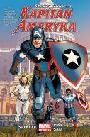 Okładka ksiązki - Kapitan Ameryka: Steve Rogers, tom 1