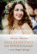 Okładka książki - Małżeństwo do poniedziałku