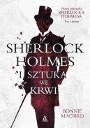 Okładka książki - Sherlock Holmes i sztuka we krwi