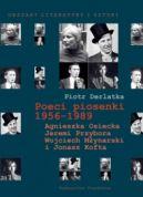 Okładka ksiązki - Poeci piosenki 1956-1989. Agnieszka Osiecka, Jeremi Przybora, Wojciech Młynarski i Jonasz Kofta