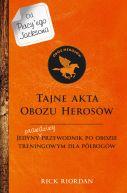 Okładka ksiązki - Tajne akta Obozu Herosów