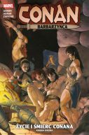 Okładka - Conan Barbarzyńca. Życie i śmierć Conana. Księga 2