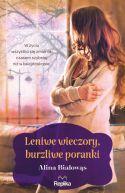 Okładka książki - Leniwe wieczory, burzliwe poranki