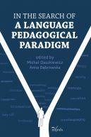 Okładka ksiązki - In the search of a language pedagogical paradigm