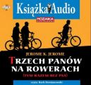 Okładka ksiązki - Trzech panów na rowerach ( tym razem bez psa)