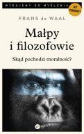 Okładka - Małpy i filozofowie. Skąd pochodzi moralność?