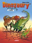 Okładka - Dinozaury w komiksie. Tom 2