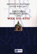 Okładka książki - Historia powszechna Wiek XVI-XVIII