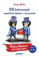 Okładka - 100 ilustrowanych angielskich idiomów z ćwiczeniami. Monkey Business with English Idioms