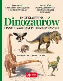 Okładka ksiązki - Encyklopedia dinozaurów i innych zwierząt prehistorycznych
