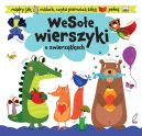 Okładka książki - Wesołe wierszyki o zwierzątkach