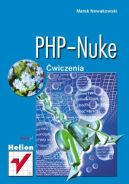 Okładka ksiązki - PHP-Nuke. Ćwiczenia
