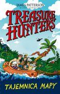 Okładka książki - Treasure Hunters. Tajemnica mapy