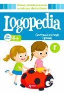 Okładka - Logopedia. Ćwiczenia i wierszyki z głoską