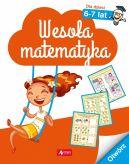 Okładka - Wesoła matematyka dla dzieci w wieku 6-7 lat