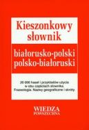 Okładka - Kieszonkowy słownik białorusko-polski polsko-białoruski