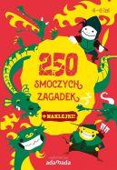 Okładka ksiązki - 250 smoczych zagadek