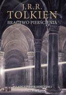 Okładka ksiązki - Bractwo pierścienia. Wersja ilustrowana