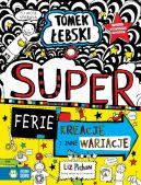 Okładka książki - Tomek Łebski. Superferie. Kreacje i inne wariacje. Tom 16